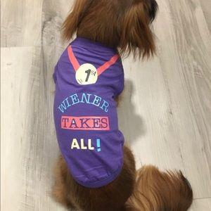 Weenie Wear custom wiener dog shirt.